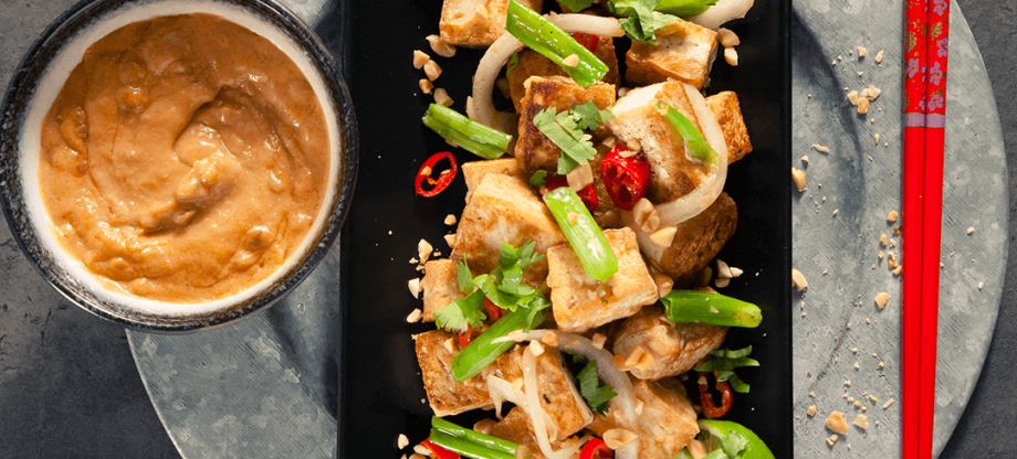 Blue Dragon Stir Fry Tofu with Peanut and Chilli Sauce
