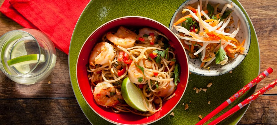 Easy Pad Thai with Sweet Chilli