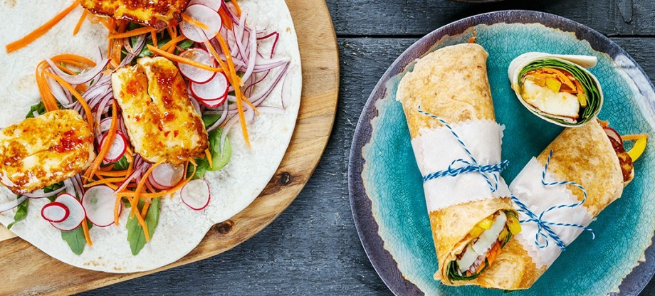 Lunchbox_Sweet_chilli_Halloumi_wrap