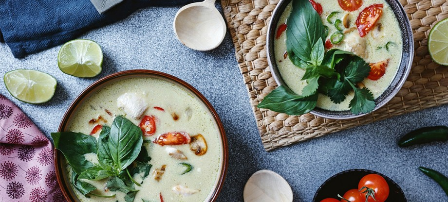 Fish Sauce - Thai Green Curry (Chicken Tomkha)