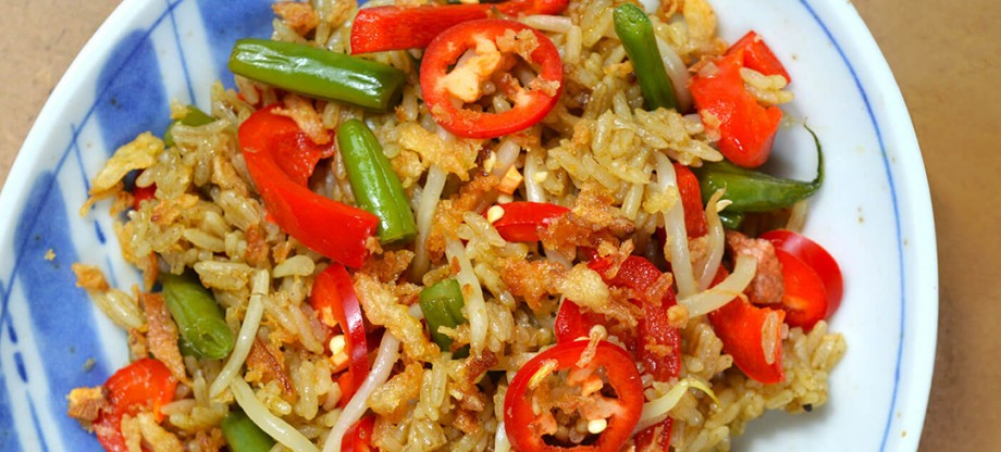 Curry Paste - Green curry fried rice